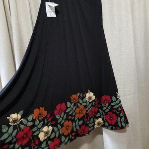 Lularoe Maxi XL boho skirt dipped